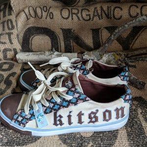 Kitson Distressed Sneakers